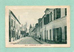 CPA - GUERARD (77) - Aspect De La Grande-Rue En 1931 - Francia