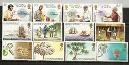 ILE PITCAIRN.  Année Complète 1983.   12 Timbres Neufs ** - Stamps