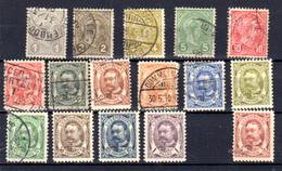 1895-15   Luxembourg ,Adolphe 1er, Entre 69 Et 85 Ø , Cote 40 €, - 1895 Adolphe De Profil