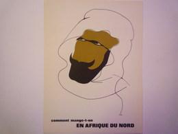 """""""PUB""""  PHARMACEUTIQUE  """"CITROCHOLINE""""    Comment Mange-t-on  EN AFRIQUE DU NORD   XXX   (format  18 X 24cm) - Advertising"""