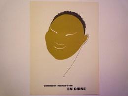 """""""PUB""""  PHARMACEUTIQUE  """"CITROCHOLINE""""    Comment Mange-t-on  EN CHINE   XXX   (format  18 X 24cm) - Advertising"""