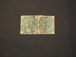 INDIA INGLESE - 1882/8 REGINA 4 A., In Coppia, Annullo 124 Di (ADEN) - TIMBRATO/USED - India (...-1947)