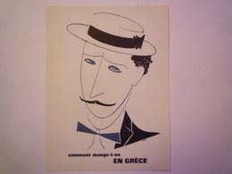 """""""PUB""""  PHARMACEUTIQUE  """"CITROCHOLINE""""    Comment Mange-t-on  EN GRECE   XXX   (format  18 X 24cm) - Advertising"""