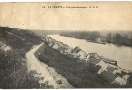 CPA N°23657 - LA FRETE - VUE PANORAMIQUE - Zu Identifizieren