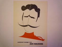 """""""PUB""""  PHARMACEUTIQUE  """"CITROCHOLINE""""    Comment Mange-t-on  AUX BALKANS   XXX   (format  18 X 24cm) - Advertising"""
