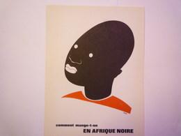 """""""PUB""""  PHARMACEUTIQUE  """"CITROCHOLINE""""    Comment Mange-t-on  EN AFRIQUE NOIRE   XXX   (format  18 X 24cm) - Advertising"""