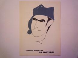 """""""PUB""""  PHARMACEUTIQUE  """"CITROCHOLINE""""    Comment Mange-t-on  AU PORTUGAL   XXX   (format  18 X 24cm) - Advertising"""