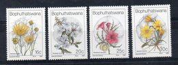 BOPHUTHATSWANA - FLEURS - FLOWERS - 1987 - - Bophuthatswana