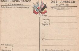Rare Lettre Correspondances Aux Armées Avec Carte Du Front Artois Et Picardie - 1914-18