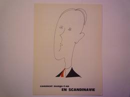 """""""PUB""""  PHARMACEUTIQUE  """"CITROCHOLINE""""    Comment Mange-t-on  EN SCANDINAVIE   XXX   (format  18 X 24cm) - Advertising"""