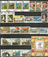 ILE PITCAIRN.  Années Complètes 1995-1996.   24 Timbres + Bloc-Feuillet Neufs **  Côte 70,00 Euro - Stamps
