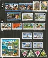 ILE PITCAIRN.  Années Complètes 1997-1998.   22 Timbres + Bloc-Feuillet Neufs **  Côte 78,00 Euro - Timbres
