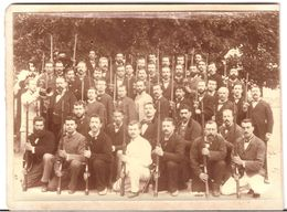 PHOTO - 008 - SOCIETE DE TIR / CONCOURS DE TIR - Aout 1882 - Photos
