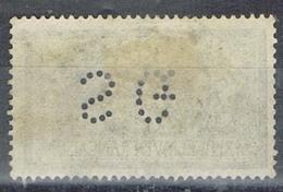 DO 7327 PERFIN FRANKRIJK YVERT NR 122 ZIE SCAN - Gezähnt (Perforiert/Gezähnt)