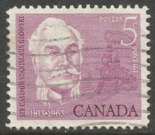 Canada. 1963  150th Birth Anniv Of Sir Casimir Gzowski. 5c Used. SG 535 - 1952-.... Reign Of Elizabeth II