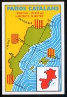 Catalunya. *Països Catalans* Impreso 100 X 146 Mms. Dorso En Blanco. - Mapas