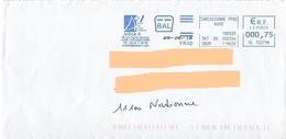 EMA Bal Frad HL 722798 Aude + Flamme AIDeA11 Carcassonne Accueil Drogue Addiction - EMA (Print Machine)