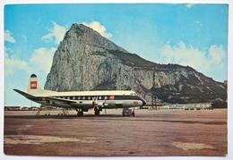 BRITISH EUROPEAN AIRWAYS VICKERS VISCOUNT AT GIBRALTAR AIRPORT - 1946-....: Modern Era
