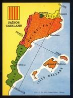 Catalunya. *Països Catalans* Impreso 108 X 148 Mms. Dorso En Blanco. - Mapas