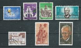 AFRIQUE DU SUD  Yvert  N° 251-252-256-306-388-412-415  Oblitérés - Afrique Du Sud (1961-...)