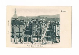 Cartolina - Postcard / Non Viaggiata / Unsent / Torino - Via Po E Via Della Zecca - Andere
