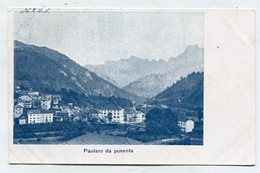 ITALY - AK 337084 Paularo Da Ponente - Italia