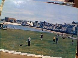Scotland, Stranraer Children's Playing Ground Beach Tennis STAMP SELO TIMBRE ENGLAND 4d (BELFAST)TO ITALY 1967 GX5468 - Antrim / Belfast