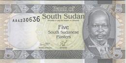 South Sudan - Pick 1 - 5 Piastres 2011 - Unc - RARE - South Sudan