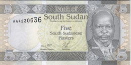 South Sudan - Pick 1 - 5 Piastres 2011 - Unc - RARE - Südsudan