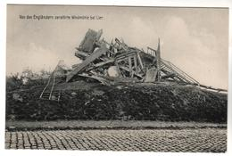 + 1840,  Feldpost, Von Engländern Zerstörte Windmühle Bei Lier, Belgien - Guerre 1914-18