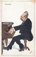 AK - Karikatur ALFRED GRÜNFELD - Salon-Pianist Der Wiener High-Society 1910 - Vienne