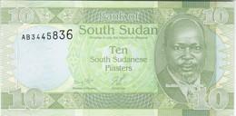 South Sudan - Pick 2 - 10 Piastres 2011 - Unc - RARE - Soudan Du Sud
