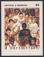 Antigua & Barbuda 2004 B587 ** Oil Painting For Saturday Evening Post Cover, 1961 - Norman Rockwell - Antigua En Barbuda (1981-...)
