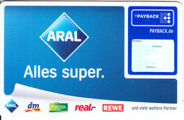 GERMANY - ARAL, Payback Magnetic Card, Unused - Autres Collections