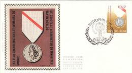 1956 Les Plus Grands Mutilés Et Invalides De Guerre - Médaille - FDC