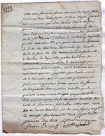 VP13.321 - ANGOULEME X RUELLE SUR TOUVRE -  Acte De 1778 - Droit De Pêche Sur La Rivière De LA TOUVRE - Manuscripts