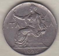 ITALIE. BVONO DA 1 LIRA 1928 .VITTORIO EMANUELE III - 1861-1946 : Royaume