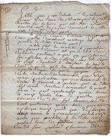 VP13.322 - ANGOULEME X RUELLE SUR TOUVRE -  Acte De 1783 - Droit De Pêche Sur La Rivière De LA TOUVRE - Manuscripts