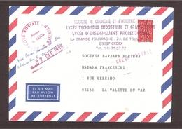 GRÈVE 1995 Var ... Aux Bons Soins De La C.C.I. - Postmark Collection (Covers)