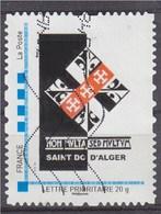 = MonTimbraMoi Non Multa Sed Multum Saint Do D'Alger Lettre Prioritaire 20g Cadre MonTimbaMoi Oblitéré, - France