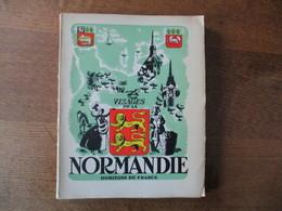 VISAGES DE LA NORMANDIE HORIZONS DE FRANCE SECONDE EDITION IMPRIMEE LE 15 DECEMBRE 1945 A GENEVE - Normandie