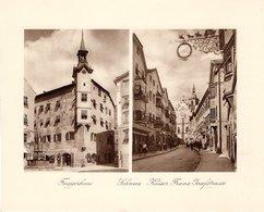 Schwaz - Fuggerhaus , Kaiser Franz Josefstrasse - Kupfertiefdruck Ca 1910-20 - Drucke