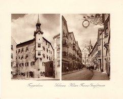 Schwaz - Fuggerhaus , Kaiser Franz Josefstrasse - Kupfertiefdruck Ca 1910-20 - Prints