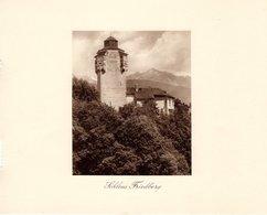 Schloss Friedberg - Kupfertiefdruck Ca 1910-20 - Prints