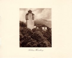 Schloss Friedberg - Kupfertiefdruck Ca 1910-20 - Drucke