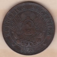 ARGENTINE / TUCUMAN. DOS CENTAVOS 1890. BRONZE - Argentine