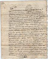 VP13.324 - Cachet Généralité De POITIERS - SAINT MAIXENT - Acte De 1786 Concernant Mrs GUERIN à CHERVEUX - Seals Of Generality