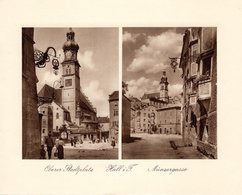 Hall In Tirol - Oberer STadtplatz+ Münzergasse - Kupfertiefdruck Ca 1910-20 - Prints