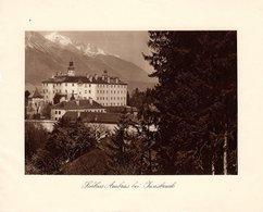 Schloss Ambras Bei Innsbruck - Kupfertiefdruck Ca 1910-20 - Drucke