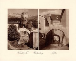 Rattenberg - Kundler Tor + Neutor - Kupfertiefdruck Ca 1910-20 - Drucke